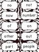Fry's Sight Word Cards (1-500) Zebra Print Edition