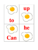 Fry's Sight Word Egg Game