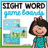Fry's Sight Word Game Boards