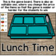 Fry's Sight Word Game (Words 200-400) Restaurant Theme