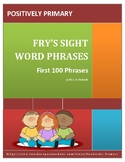 Fry's Sight Word Phrases First 100 Phrases