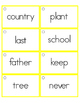 Fry's Sight Word Rings {201-300}
