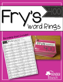Fry's Sight Word Rings {301-400}