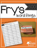 Fry's Sight Word Rings {401-500}