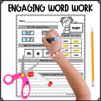 Fry's Sight Words 101- 200 NO PREP LOW INK