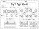 Fry's Sight Words 1st 50 Words Printables Worksheets