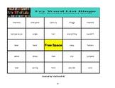 Fry's Sight Words 601- 700 Bingo