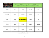 Fry's Sight Words 701-800 Bingo