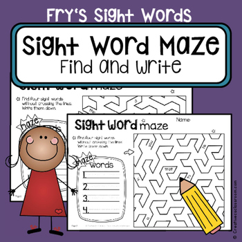 Fry's Sight Words - High frequency word practice - read an