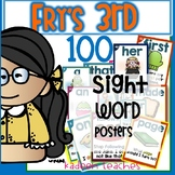 Fry's Third 100 Sight Word Sentence Fluency cards-Style 2