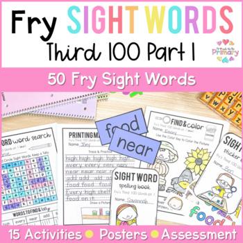 Fry's Third 100 Words Sight Words Curriculum Part 1