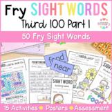 Fry's Sight Words Curriculum - Third 100 Part 1