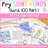 Fry's Third 100 Words Sight Words Curriculum Part 1