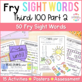 Fry's Third 100 Words Sight Words Curriculum Part 2