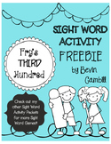 Fry's Third Hundred Sight Word Activity FREEBIE