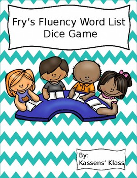 Fry's Word List Dice Game