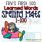 Fry's Words Spelling Mats First 100