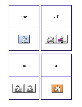 Fry sight words and phrases First 100 with LAMP sequences -- AAC Device