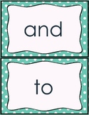Fry word wall words (First 100)