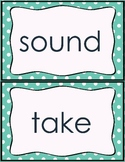 Fry word wall words (Second 100)