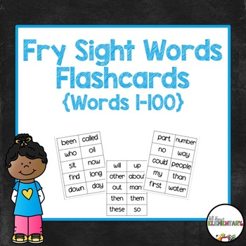 Fry Words 1-100 Student Flashcards
