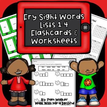 "Fry Sight Words on the ""iPad"""