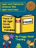 Frye's 1st 100 Sightword Freebie