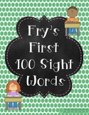 Fry's First 100 Words Practice