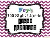 Fry's 100 Sight Words & Word Wall Bingo Daubers