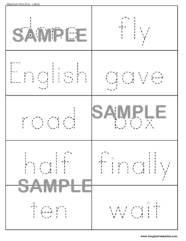 Fry's 1000 Sight Words Pack