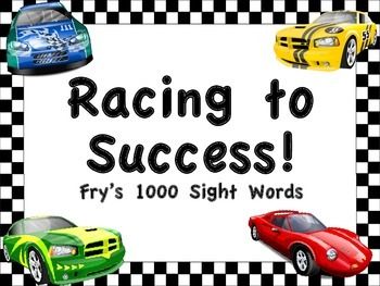 Fry's 1000 Sight Words Posters (multiple themes to choose from)