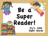 Fry's 1000 Sight Words Posters (Superhero Theme)