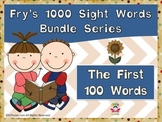 Fry's First 100 Sight Words Bundle by EdTunes Jr.