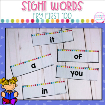 Fry's 1st 100 Sight Words