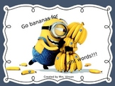 Fry's High Frequency Words 1st set PowerPoint- Minion 1st