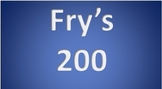 Fry's 2nd 100  Sight Words Interactive PowerPoints