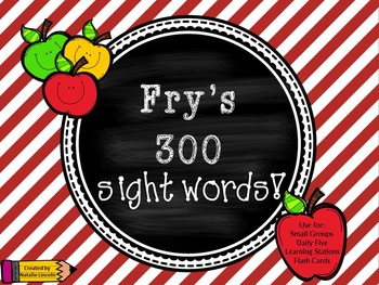 Fry's 300 Sight Words