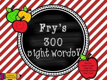 Fry's 300 Sight Words