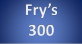 Fry's 3rd 100 Sight Words Interactive PowerPoint