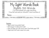 Fry's Eighth 100 Sight Words Book