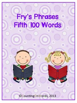 Fry's Fifth 100 Phrases with graphics