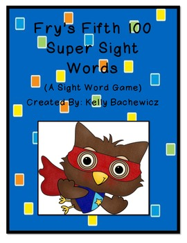 Fry's Sight Words-Fifth 100