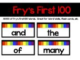 Frys First 100