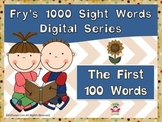 Fry's First 100 Digital Sight Words by EdTunes Jr.