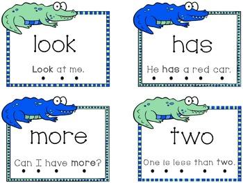 Fry's First 100 Kindergarten Sight Words Flash Cards