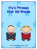 Fry's First 100 Phrases with graphics