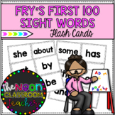 Fry's First 100 Sight Word Flashcards