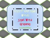 Fry's First 100 Sight Word Graphing Worksheets