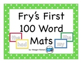 Fry's First 100 Sight Word Kinesthetic Mats