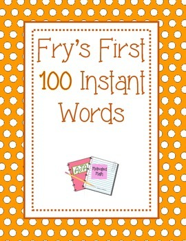 Fry's First 100 Sight Words